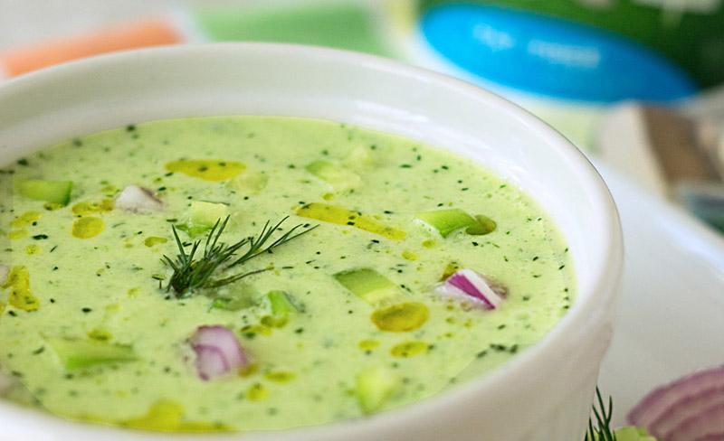 Вкусные холодные супы рецепты с фото